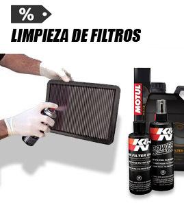 Productos limpieza filtros de aire moto
