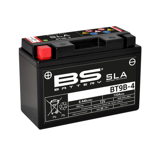 BS BATTERY BT9B-4 SLA 12V ÁCIDO