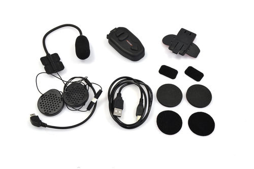 BIKECOMM KIT INTERFONO BLUETOOTH PAQUETE INDIVIDUAL
