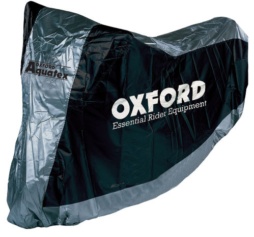 FUNDA IMPERMEABLE CUBRE MOTO. OXFORD TALLA L