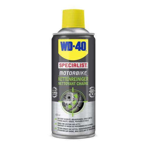 SPRAY LIMPIADOR DE CADENA WD-40. BOTE 400 ML