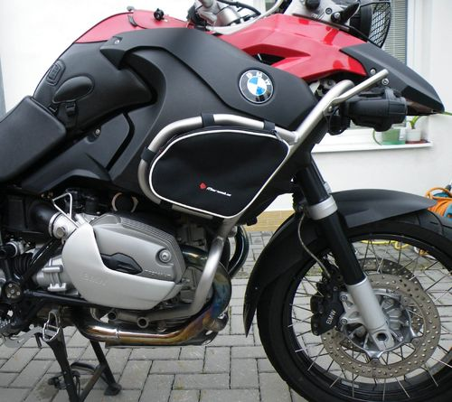 MARSELUS JUEGO DE BOLSAS PARA DEFENSAS ORIGINALES EN BMW R1200GS / ADVENTURE DE 2004 A 2012