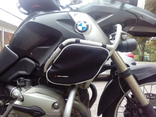 MARSELUS JUEGO DE BOLSAS PARA DEFENSAS SW-MOTECH  EN R1200GS DE 2008 A 2012