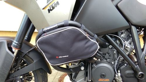 MARSELUS JUEGO DE BOLSAS PARA DEFENSAS SW-MOTECH EN KTM 1190 ADVENTURE
