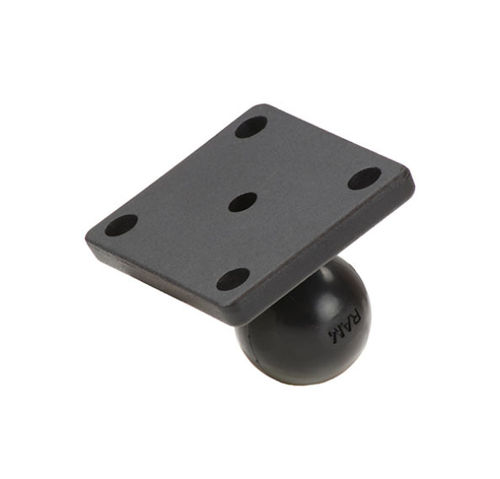 RAM MOUNT PLACA BASE RECTANGULAR CON BOLA