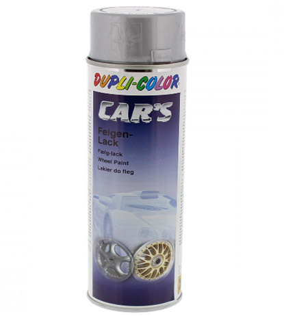 SPRAY PINTURA ESPECIAL LLANTAS - PLATA BRILLO. BOTE 400ML