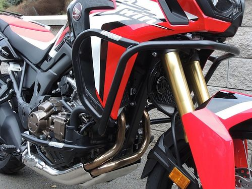 RDMOTO PROTECCIONES SUPERIORES + INFERIORES NEGRAS AFRICA TWIN CRF 1000 DCT