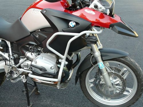 RDMOTO KIT COMPLETO PROTECCIONES GRISES BMW R1200GS 2004 A 2007