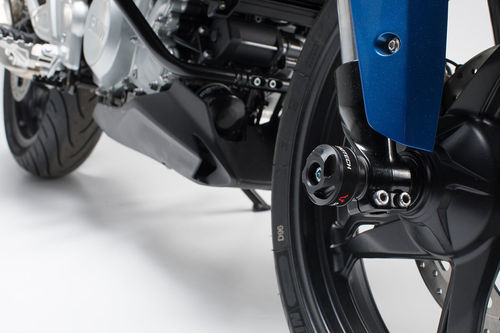 SW-MOTECH KIT PROTECTORES PARA EJE TRASERO BMW G310GS