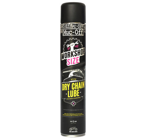 MUC-OFF SPRAY GRASA DE CADENA PTFE SECO. BOTE 750ML