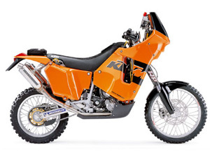 KTM EXC 660 LC4 RALLY